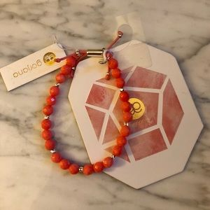 Gorjana pink coral bracelet